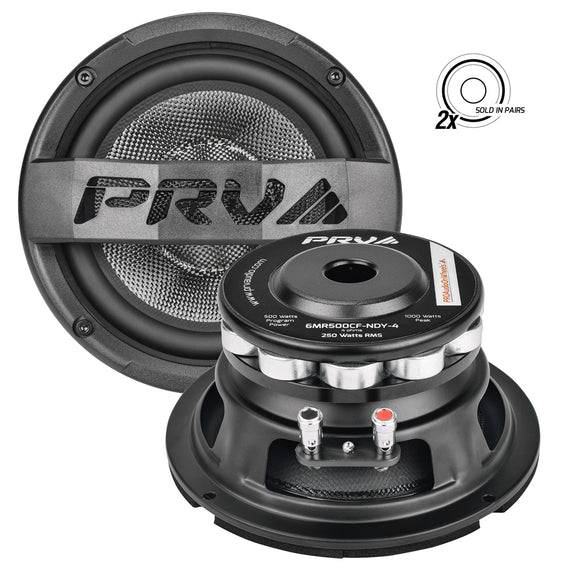 PRV Audio 6MR500CF-NDY-4 (PAIR) 6