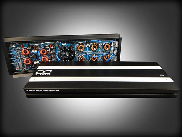 DC Audio 7.5K 7500 Watt Class D Car Amplifier