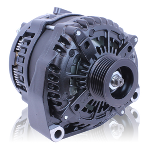 250 Amp Elite Series Cast Alternator for GM Truck BLACK  1996-2004