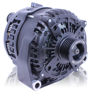 320 Amp Elite Series  Alternator for GM Truck BLACK 1996-2004