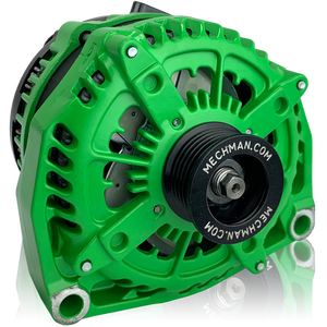 Mechman 400 Amp Green High Output Alternator 1996-2004 GM Truck 4.3L 4.8L 5.3L 5.7L 6.0L