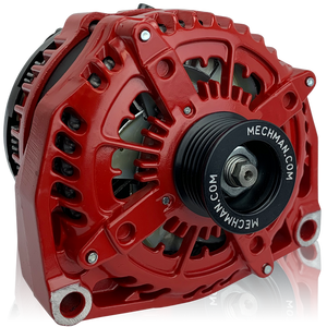 Mechman 400 Amp Red High Output Alternator 1996-2004 GM Truck 4.3L 4.8L 5.3L 5.7L 6.0L