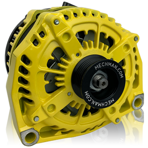 Mechman 400 Amp Yellow High Output Alternator 1996-2004 GM Truck 4.3L 4.8L 5.3L 5.7L 6.0L