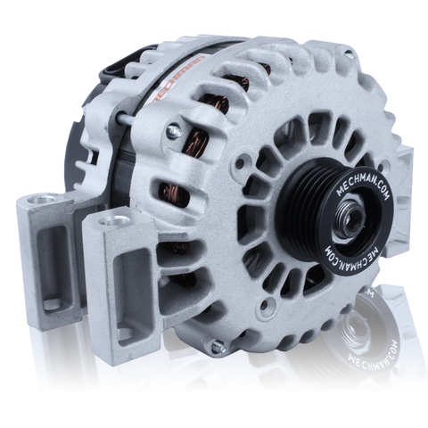 240 Amp Alternator for GM 4.2L 6 cylinder with 2 pin Plug