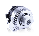 S Series Billet 240 AMP Racing Alternator For C5/C6 Corvette - One Wire, Self Exciting - Machined Finish