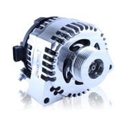 S Series Billet 170 AMP Racing Alternator For C5/C6 Corvette - One Wire, Self Exciting - Polished Finish