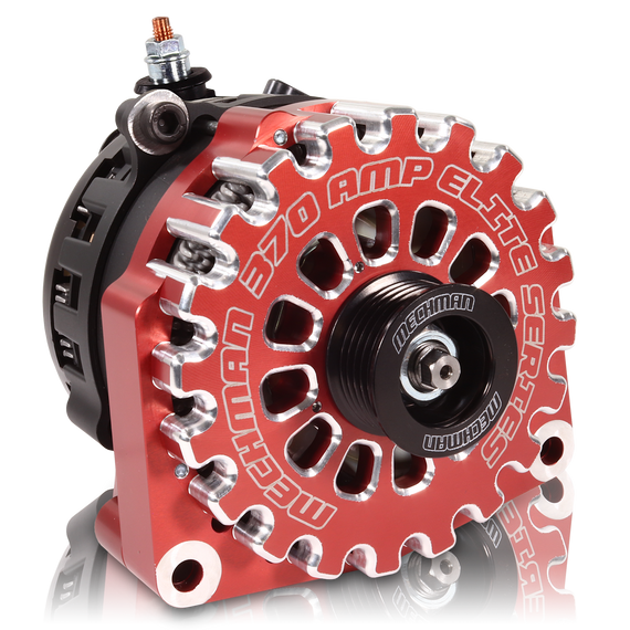 High Output 370 Amp RED Alternator 14-19 GM Silverado Tahoe Suburban Escalade Sierra