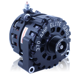 E Series 370 Amp Billet Alternator for Late GM Truck