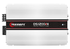 Taramps DS 1200x4 1200 Watt Class D 4 Channel Amplifier
