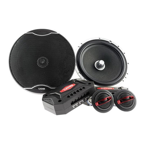 "DS18 CAR AUDIO EXL 6.5"" 2-WAY COMPONENT SYSTEM 400 WATTS"