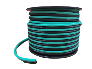 FULL TILT 16 GAUGE TEAL/BLACK 100' TINNED OFC OXYGEN FREE COPPER SPEAKER WIRE