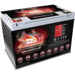 FULL THROTTLE BATTERY FT825-34 GROUP 34 AGM POWERCELL