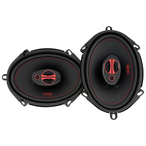 "DS18 CAR AUDIO GEN-X 5x7"" 3-WAY COAXIAL SPEAKERS 165 WATTS"