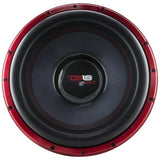 "DS18 CAR AUDIO HOOLIGAN X 15"" COMPETITION SUBWOOFER 4000 WATTS RMS 4"" DVC 1-OHM"