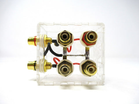 Sky High Car Audio Clear RCA Distribution Block
