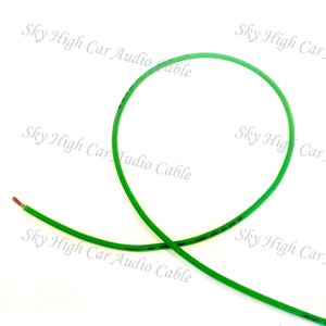 Sky High Car Audio 12 Gauge CCA Remote (Primary) Wire 25'