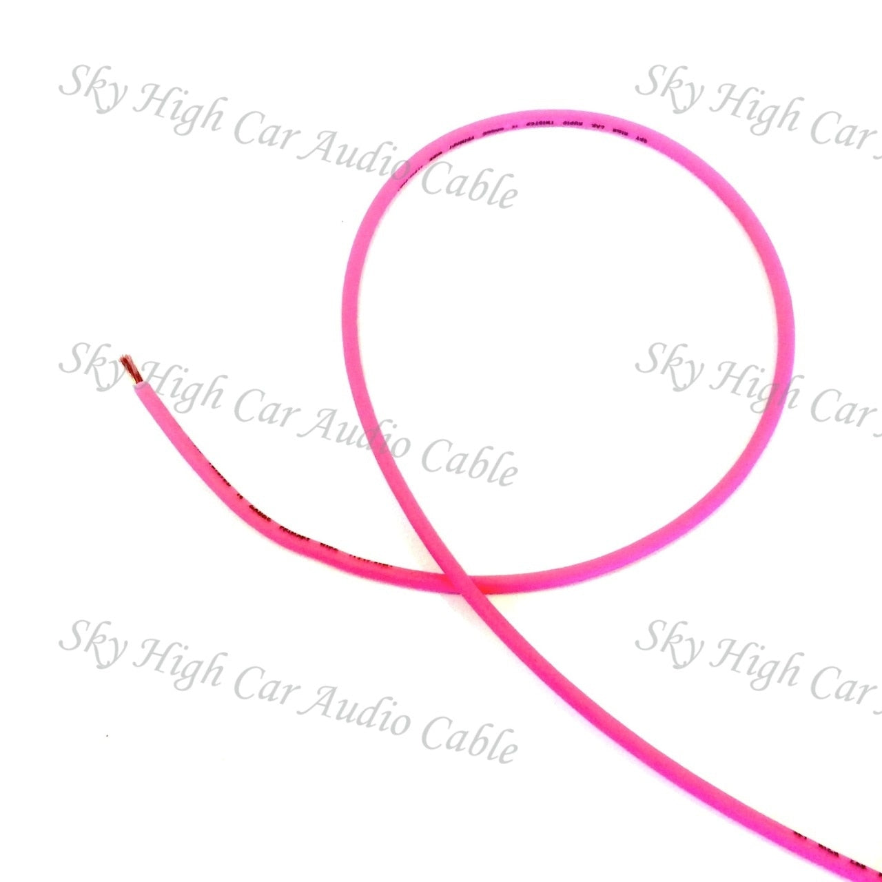 Sky High Car Audio 16 Gauge CCA Remote (Primary) Wire 25'
