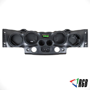 "DS18 Exclusive Ds18 Overhead Bar System for JK/JKU  Jeeps (4 X 8"" Speakers 4 X Tweeters 2X Drivers) Black"