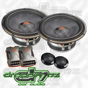 Crescendo Audio Mezzo SQ2 6.5 Inch 4 ohm Component Speakers
