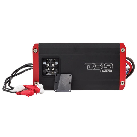 DS18 HYDRO FULL RANGE DIGITAL MARINE 4-CHANNEL AMPLIFIER 1200 WATTS