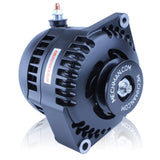 S Series 170 amp Racing alternator for 63-85 GM - 1 wire - BLACK ANODIZED