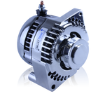 Billet 240 Amp Alternator for early Ford - 1 wire - Polished