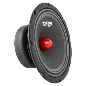 "DS18 PRO-GM 8"" Mid-Range Loudspeaker with Bullet 660 Watts 8-Ohm"
