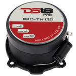 "DS18 CAR AUDIO 1"" PRO ALUMINUM SUPER BULLET TWEETER VC 300 WATTS WITH BUILT IN CROSSOVER (PAIR)"