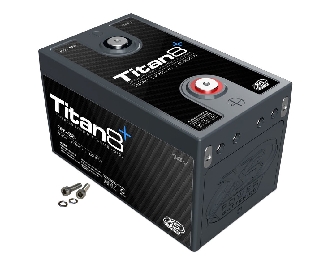XS Power Titan8 RSV-S6 14v Lithium Titanate Battery