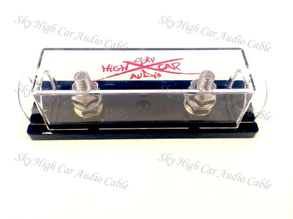 Sky High Car Audio 1/0 Ring Terminal Fuse Holder