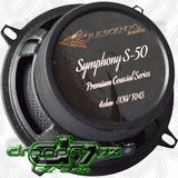 Crescendo Audio Symphony 5.25 Inch Coaxial Speaker Set