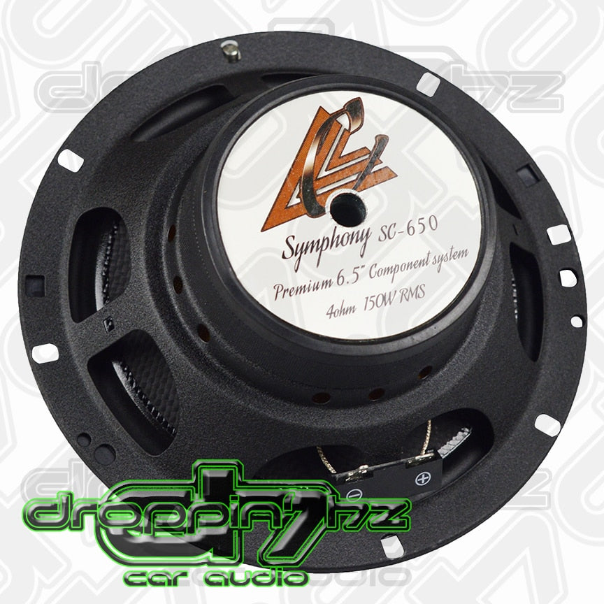 Crescendo Audio Symphony 6.5 Inch 4 ohm Component Speakers