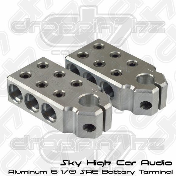 Sky High Car Audio 6 1/0 SAE Aluminum Battery Terminals
