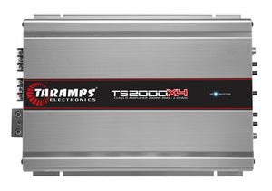 Taramps TS 2000x4 2000 Watt Class D 4 Channel Amplifier