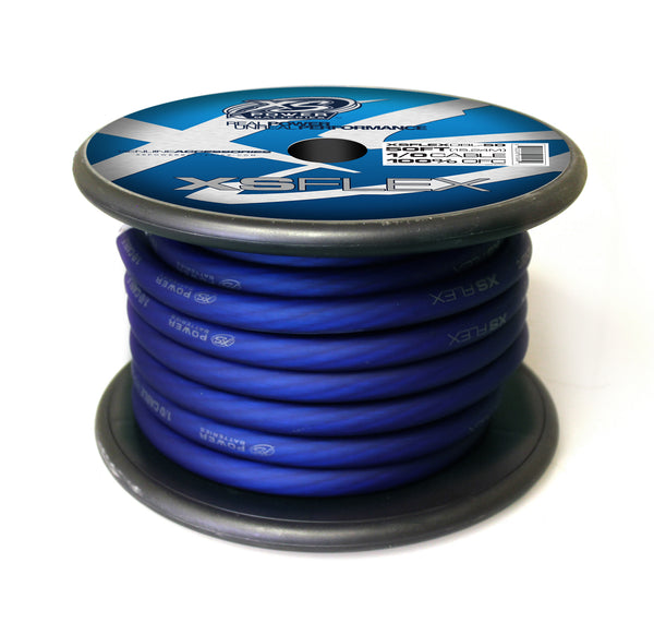 XS Power 1/0 OFC 4704 Stand Count Tinned Oxygen Free Copper 50' Spool