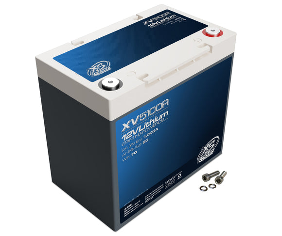 XS Power XV5100R - 12V Direct Fit Lithium Titanate Automotive Batteries