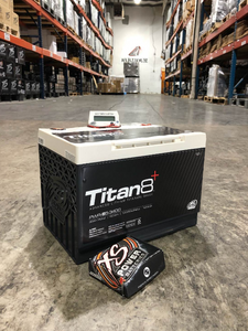XS Power Titan8 UNDERHOOD SAFE BCI PWR-S5 12v Lithium Titanate Battery