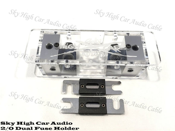 Sky High Car Audio 2/0 ANL Fuse Holder- Set Screw