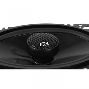 "NVX NSP46 4"" X 6"" 2-Way Coaxial Car Speakers"