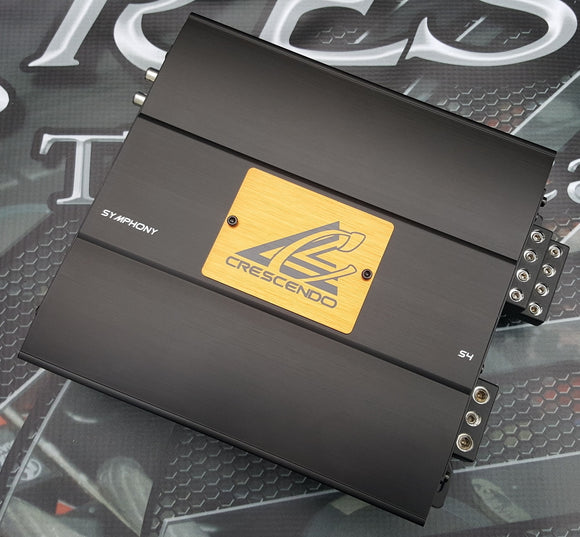 Crescendo Audio Symphony S4 4 channel Amplifier