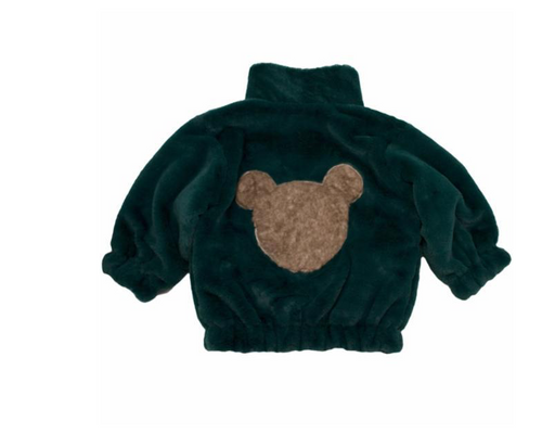 Tahoe Slouch Fur Teddy Bear Jacket