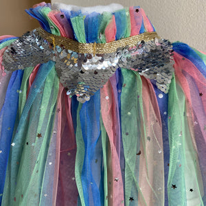 Rainbow Bright Cape
