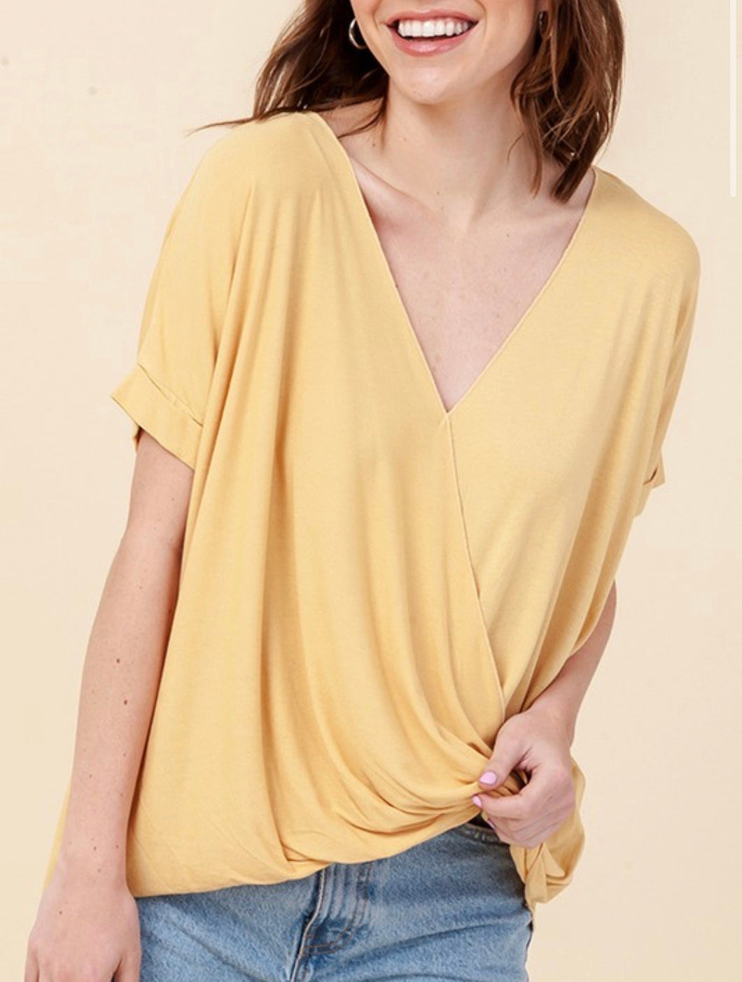 Double Duty Wrap Top | French Fry