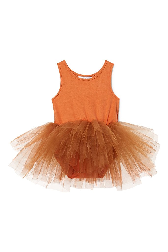 Suede Tutu | Demi Orange