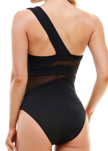 Women's Cut Out Swimsuit | Black