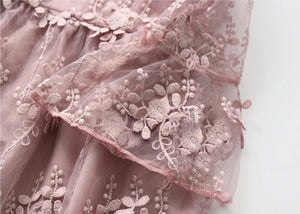 Rose Pink Lace dress
