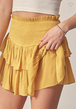 Load image into Gallery viewer, Betsy Ruffle Skort | Butter
