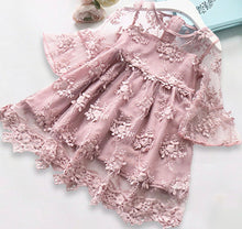 Load image into Gallery viewer, Rose Pink Lace dress