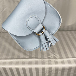 Saddle Purse with Tassels