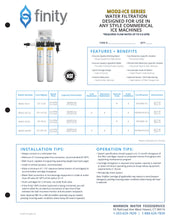 Load image into Gallery viewer, FINITY ICE Series MOD2-ICE20C Commercial Water Filter - Ecowater Malaysia